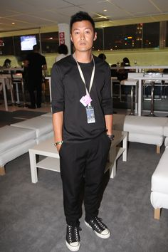 HK actor and singer Shawn Yue at the Calvin Klein hospitality suite at the  2012 FORMULA 1 SINGTEL SINGAPORE GRAND PRIX 5979b9a9a5ba