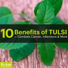 Natural Cancer Cures, Natural Cures, Natural Healing, Natural Medicine, Herbal Medicine, Holistic Medicine, Tulsi Tea, Cancer Fighting Foods, How To Treat Anxiety
