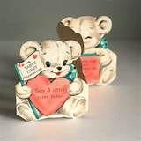 Vintage Valentine Bear - Bing images
