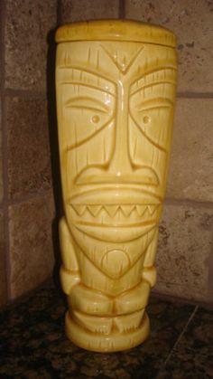"Tiki Farm ""Mondo Tiki"" Event Mug Yellow 2003 by Shag | eBay"