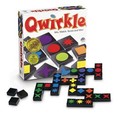 Qwirkle is fun for everyone! http://www.mastermindtoys.com/Qwirkle-Game.aspx