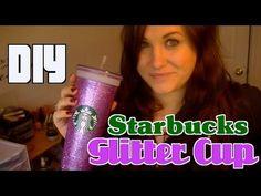 Starbucks Glitter Cup DIY Christmas Gift!