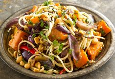 Kumara sesame noodle salad recipe from Fisher & Paykel Social Kitchen