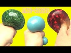 Colle Slime, Slime Transparent, Bola Anti-stress, Balle Anti Stress, Science Party, Pixel Art, Coups, Cycle 1, Diys