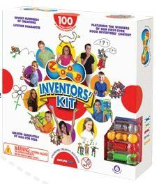 ZOOB Inventor's Kit by Zoob. $22.79. The ZOOB Inventors' Kit showcases kids and their creativity--it features the winners from our Inventors' Contest, their creations, the story behind their inventions, and the materials kids need to enter next year's contest. It includes 100 ZOOB pieces, each of which comes with a lifetime guarantee, instrucions, and the Official Inventors' Contest Entry Form.. ZOOB is a building set with a difference-the pieces move after kids put th...
