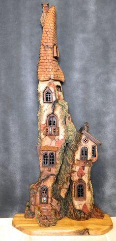 Wee Folk Castle by ForestDwellerHouses on DeviantArt