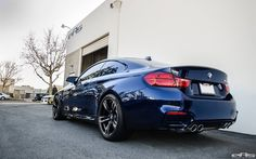 #BMW #F82 #M4 #Coupe #Dark #Blue #Eyes #Provocative