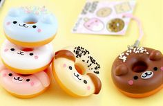 Cute donuts ... so one day I`m going to use this as inspiration and make some donuts