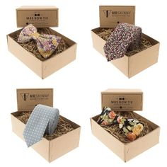 Fun vintage style ties, bowties and pocket squares from MrsBowTie   | www.onefabday.com