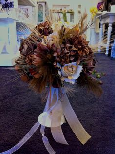 Fields of Grain  Country Rustic Natural Bride's by VowsEstesPark, $225.00