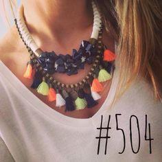 Statement necklace by Cuca acessórios