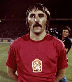 Antonin Panenka - Bohemians Praha, Rapid Vienna, VSE St. Pölten, SK Slovan Wien, Czechoslovakia.