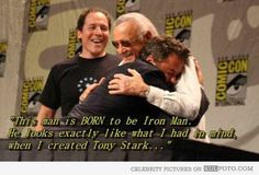 One above all...the father of many Marvel heroes...Stan Lee