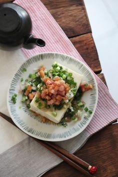 ベーコンオイルと薬味のせ冷奴。 by 栁川かおり | レシピサイト「Nadia | ナディア」プロの料理を無料で検索