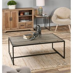 Bomani Wood Coffee Table