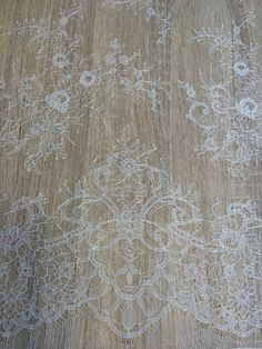 Ivory lace fabric Wedding lace lingerie lace  by ImperialLingerie 32$/yard