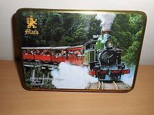 MAC'S SHORTBREAD FINGERS BISCUIT TIN  '' PUFFING BILLY ''