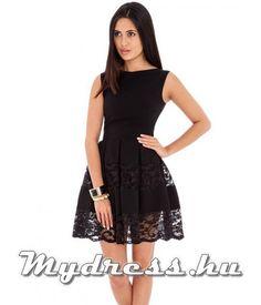 Lipcse fekete - női ruha