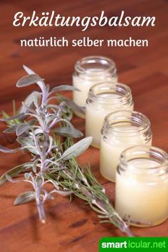Erkältungssalben riechen gut und lindern Beschwerden. Die meisten basieren jedoch auf Mineralölen. Dabei ist eine natürliche Alternative schnell gerührt!