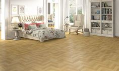 PARQUET NATURAL European classic wooden flooring look in its new laminated avataar from Faus, Spain