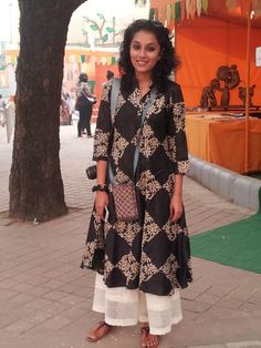 How chic a total Indian look can be.
