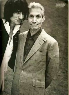 Ronnie and Charlie.  #TheRollingStones