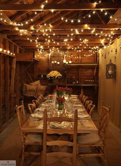 A rustic setting and simple lights make my Mirassou Dinner party charming and inviting. #MirrassouDinner