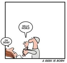 and a geek is born...