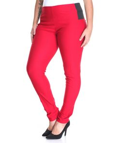 Find Second Skin Pull-on Pant (Plus) Women's Bottoms from SHINESTAR & more at DrJays. on Drjays.com