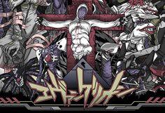 Personal illustration of Neon Genesis Evangelion