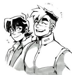 The one who's happiest to have Shiro back is Keith