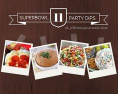 Superbowl Dips Your Game Day Buddies will Love! #superbowl #dip| JellibeanJournals.com