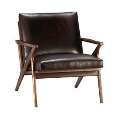 Cavett Leather Chair C&B...saw at Whitney's love!