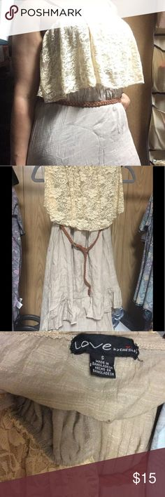 LOVE by Chesley dress 🛍 BUNDLE & 💲AVE Very good condition LOVE by Chesley Dresses High Low