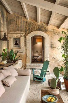 Rustic Italian Home Exterior Design, Home Interior Design, Italian Interior Design, Italian Home Decor, Italian Farmhouse Decor, Rustic Italian, French Interior, French Decor, Interior Ideas