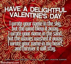 Valentine Poems | Valentine's Day poems