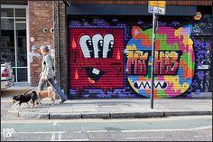London street art London Street, City Art, Graffiti Art, Art Blog, Street Art, Drawings, Painting, Painting Art, Sketches