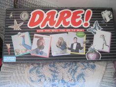 "Parker Brothers ""DARE!"" game"