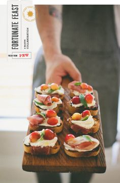 Grilled Toast with Rainier Cherries, Prosciutto, Ricotta | Scout