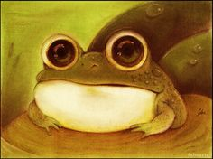Frog by faboarts