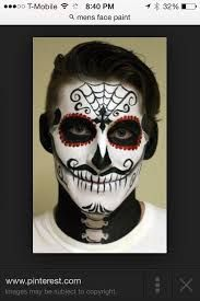Resultado de imagen para day of the dead makeup men