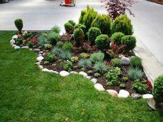 Cheap Backyard Makeover Ideas Inspiring Cheap Landscaping Ideas with regard to Cheap Backyard Makeover Ideas Cheap Landscaping Ideas, Cheap Backyard Makeover Ideas, Landscaping With Rocks, Front Yard Landscaping, Backyard Ideas, Garden Ideas, Corner Landscaping Ideas, Sloped Backyard, Mulch Landscaping