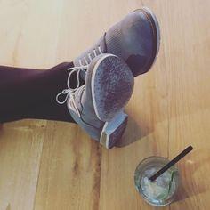 Füsse hoch lecker Wochenende  #sodaatwork #sofastream #blogger_at_work
