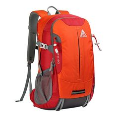 KimLee Lightweight Outdoor Hiking Daypack Climbing Bag Waterproof Backpack Travel Bag for Men  Women >>> Click on the image for additional details. (Note:Amazon affiliate link)