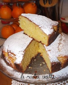 Le nostre Ricette: Torta soffice all'arancia