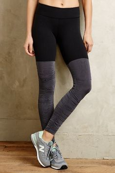 Ruched Performance Leggings - anthropologie.com