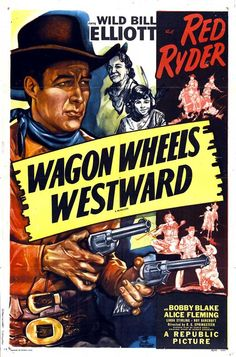 1945 western movie poster   Wagon Wheels Westward Movie Posters From Poster Shop