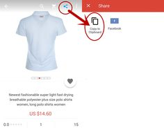 Price Comparison for AliExpress, AliPrice is a shopping assistant for AliExpress Image Search Tool, Polo Shirt Women, Plus Size, Amazon, Mens Tops, Shirts, Ebay, Fashion, Moda