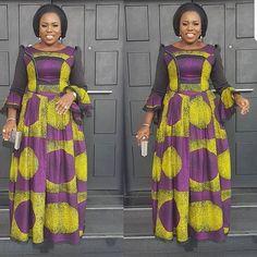 Ankara Xclusive: Most Attractive Ankara Styles For Mature Ladies from Diyanu - Ankara Dresses, Shirts & African Maxi Dresses, African Fashion Ankara, Latest African Fashion Dresses, African Dresses For Women, African Print Fashion, Africa Fashion, African Attire, African Wear, African Women