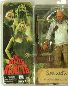 Captain Spaulding Horror Movie Characters, Horror Movies, Toy Corner, The Devil's Rejects, Rob Zombie, Sideshow Collectibles, Im In Love, Good Movies, Old School
